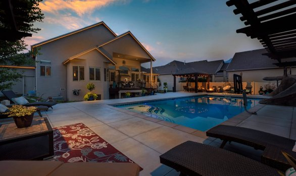 Draper Home & Pool Property